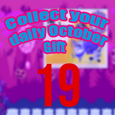 EVENT: Collect your daily October Gift! #DAY19