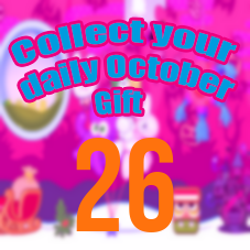 EVENT: Collect your daily October Gift! #DAY26
